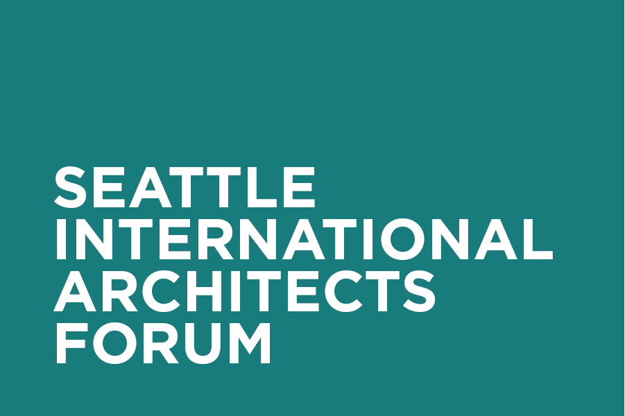 The Seattle International Architects Forum (SIAF) broadens cross-cultural horizons, provides mentoring and educational opportunities, and inspires awareness of international architectural practice.