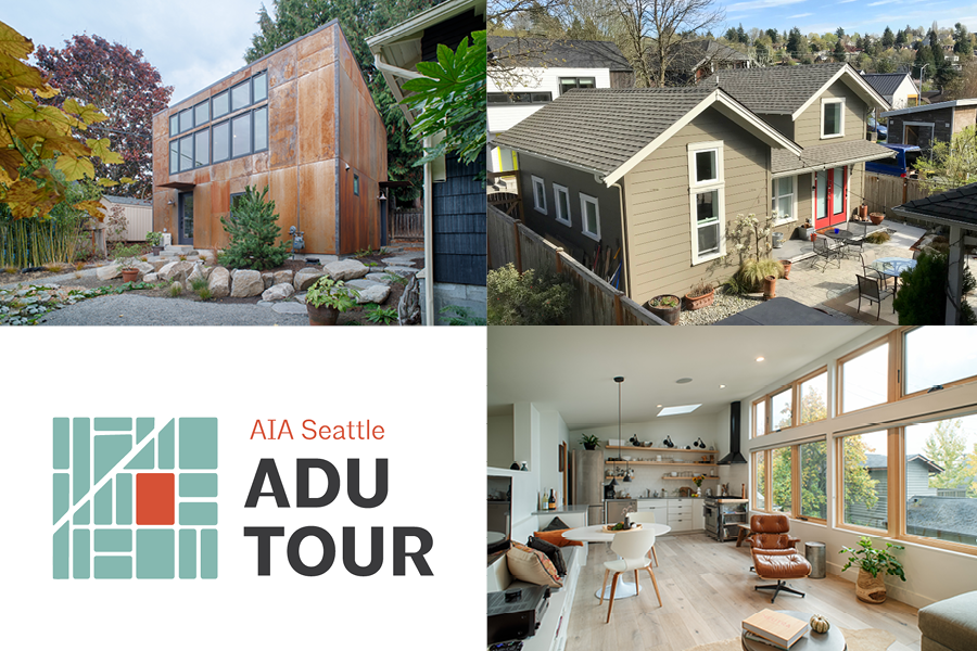 AIA Seattle's 2020 public Accessory Dwelling Unit Tour has been cancelled.