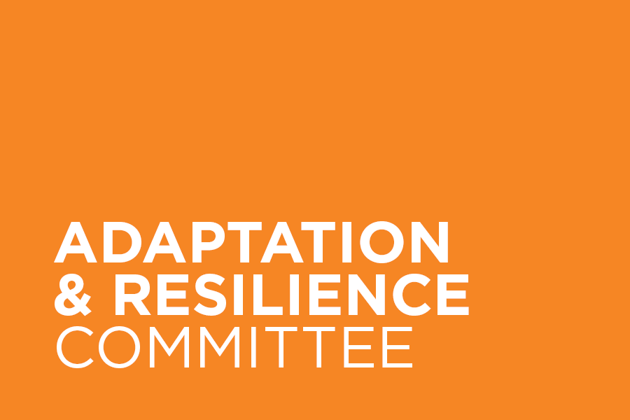 The Adaptation & Resilience Committee (formerly the Disaster Preparedness & Response Committee) informs and designs professional action in preparing for and responding to stressors and shocks that communities may face.