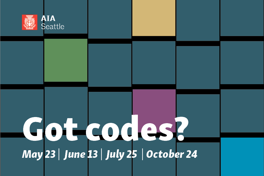 AIA Seattle's Code Committee has worked with experts to plan four half-day programs, covering topics including accessibility, assembly occupancies, the nuts and bolts of residential codes, and more!