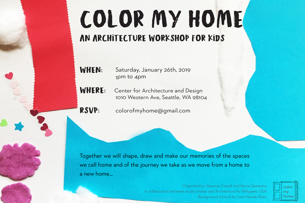 You're invited to Color My Home: An Architecture Workshop for Kids