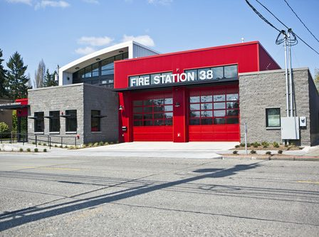 Fire Station 38 designed by Schreiber Starling Whitehead