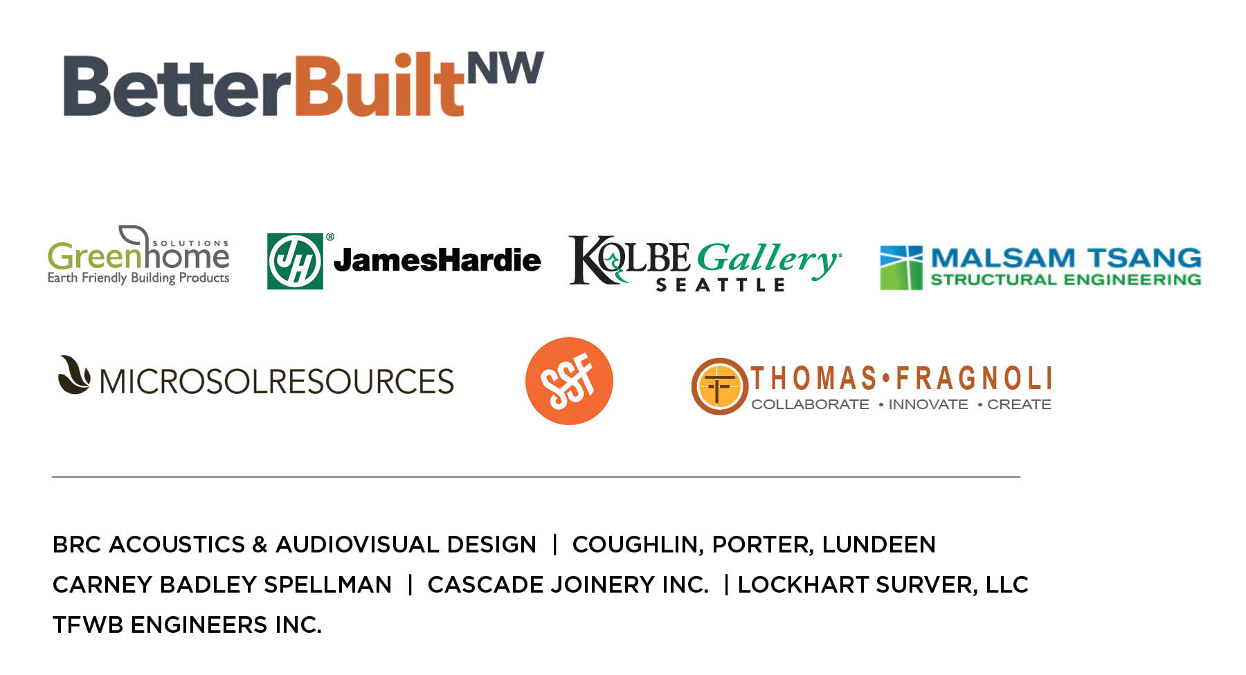 Housing Design Week sponsor graphic