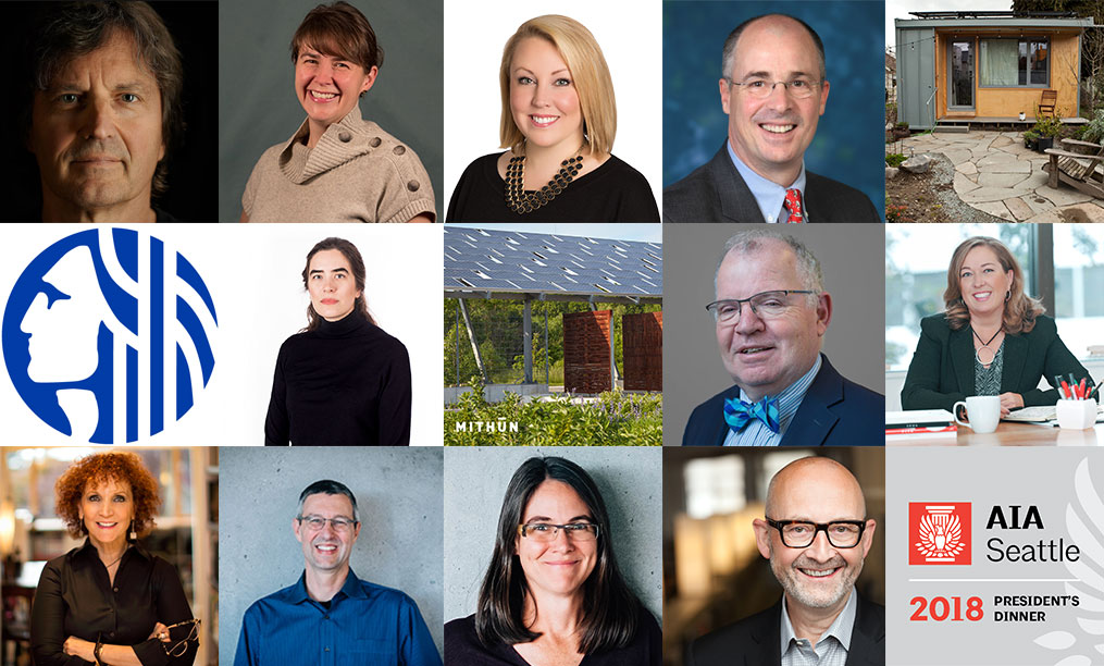 Each year, AIA Seattle recognizes leadership and achievement in design and the built environment through its honors program.