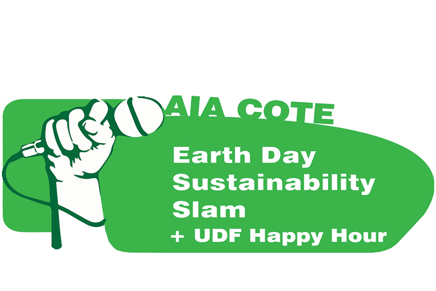 It's time again for COTE's annual Earth Day Sustainability Slam!